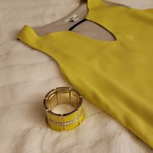 Jewelry - Yellow Cuff/Bracelet